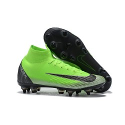Cristiano Ronaldo Nike Mercurial Superfly VI 360 Elite SG-Pro AC Green Black