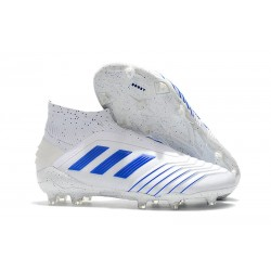 adidas Predator 19+ FG News Soccer Cleat Virtuso White Blue
