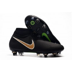Nike Phantom Vision Elite DF SG-PRO Anti-Clog Black Golden