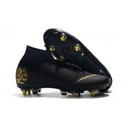 Nike Mercurial Superfly VI 360 Elite SG-Pro AC Black Gold