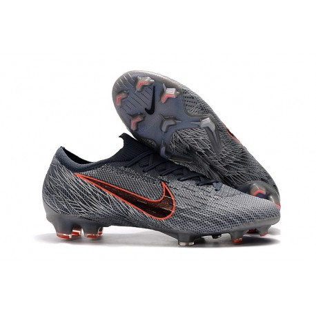 Nike Mercurial Vapor XII Elite FG Firm Ground Cleats - Wolf Grey Black