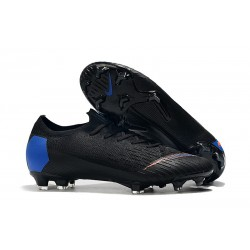 Nike Mercurial Vapor XII Elite FG Firm Ground Cleats - Black Blue