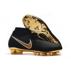 Nike Phantom Vision Elite DF FG New Boot Black Gold