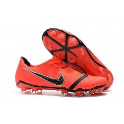 Nike Phantom VNM Elite FG Cleats Bright Crimson Black