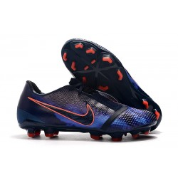 Nike Phantom VNM Elite FG Cleats Obsidian Blue Black