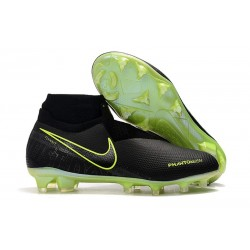 Nike Phantom Vision Elite DF FG New Boot Black Volt