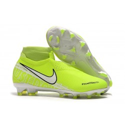 Nike Phantom Vision Elite DF FG New Lights Volt White