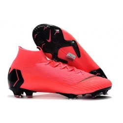 Nike Mercurial Superfly Iv Ronaldo CR7 FG Soccer Shoes in Pink