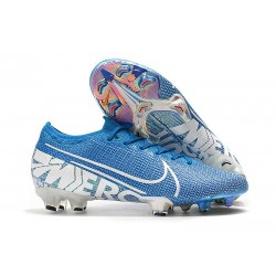 Nike Mercurial Vapor 13 Elite FG Soccer Shoes - Blue Hero White
