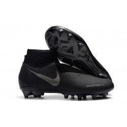 Nike Phantom Vision Elite DF FG Men's Soccer Boots - Black