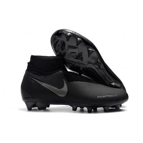 Nike Phantom Vision Elite DF FG Men's Soccer Boots - Black