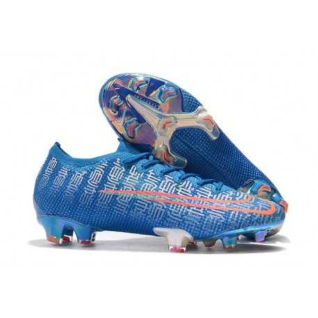 Nike Mercurial Vapor 13 Elite FG Soccer Shoes - Blue Red