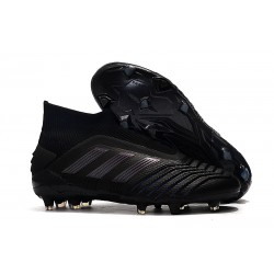 adidas Predator 19+ FG News Soccer Cleat Full Black