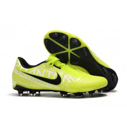 Nike Phantom VNM Elite FG Cleats Volt White Obsidian