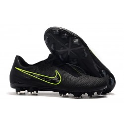 Nike Phantom VNM Elite FG Cleats Black Volt