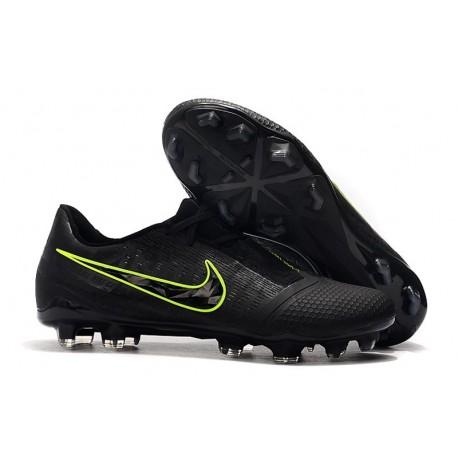 Nike Phantom VNM Elite FG Cleats Black Volt