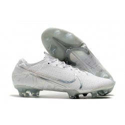 Nike Mercurial Vapor 13 Elite FG Soccer Shoes - White