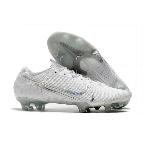 Nike Mercurial Vapor 13 Elite FG Soccer Shoes - White