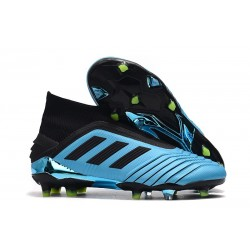 adidas Predator 19+ FG News Soccer Cleat Bright Cyan Black