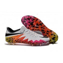 Nike Hypervenom Phinish FG Football Boots White Orange Black