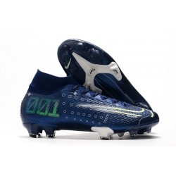 New Nike Dream Speed Mercurial Superfly 7 Elite FG Blue Void White