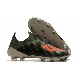 adidas X 19+ FG News Soccer Boots Legacy Green Solar Orange Chalk