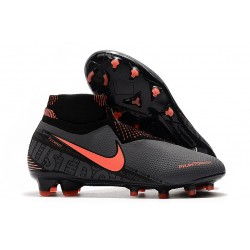 Nike Phantom Vision Elite DF FG New Boot Dark Grey/Bright Mango/Black
