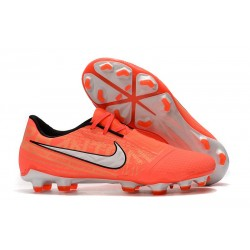 Nike Phantom VNM Elite FG Cleats Bright Mango White
