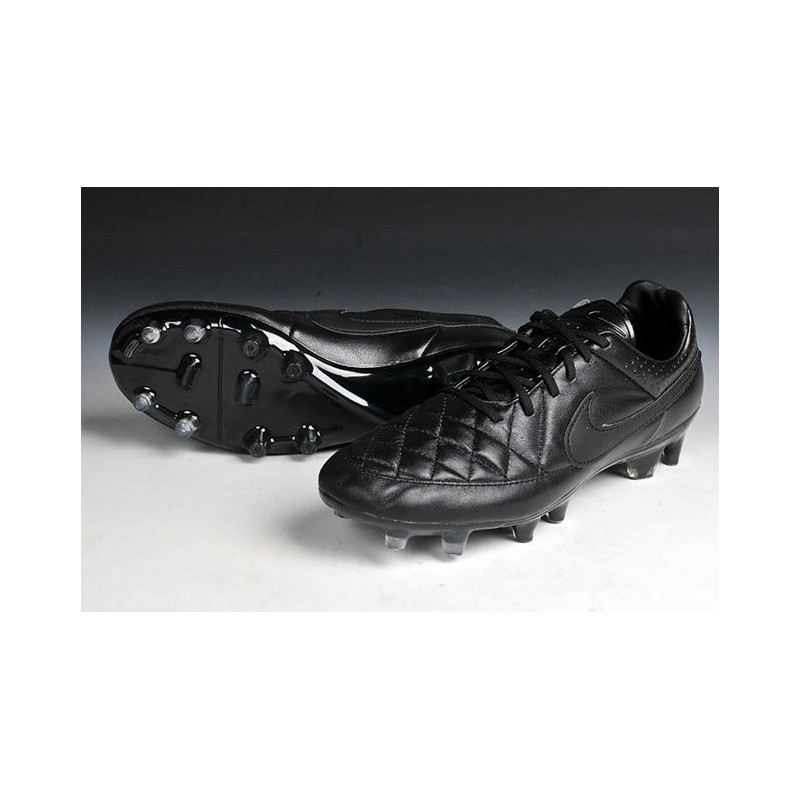 74d357902 all black nike tiempo cleats on sale   OFF50% Discounts