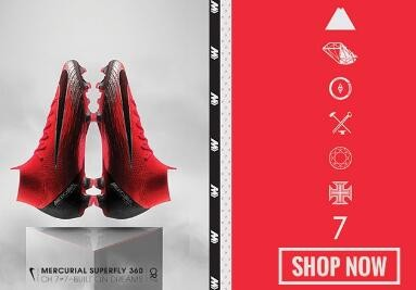 Nike mercurial superfly red